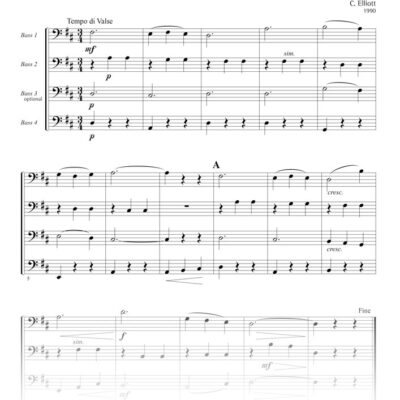 Dance 101 score sample